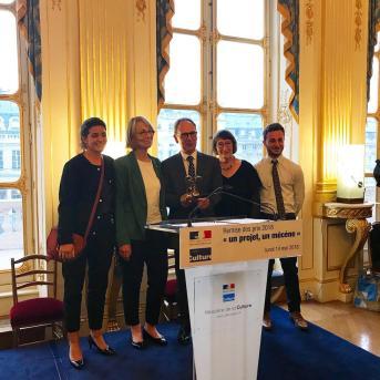 Photo groupe Prix un projet un mécène